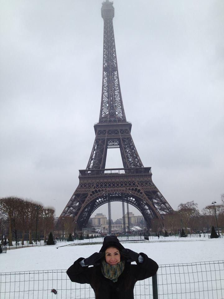 Torre Eiffel, Paris Enero 2013 .
