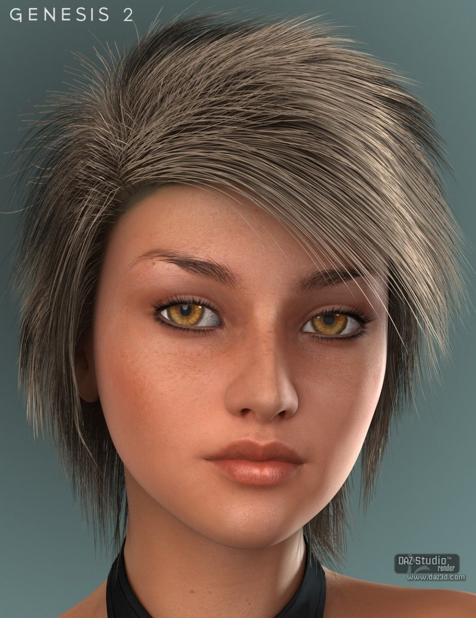Charlie Hair For Genesis 2 Female S Hair Womens Hairstyles Female