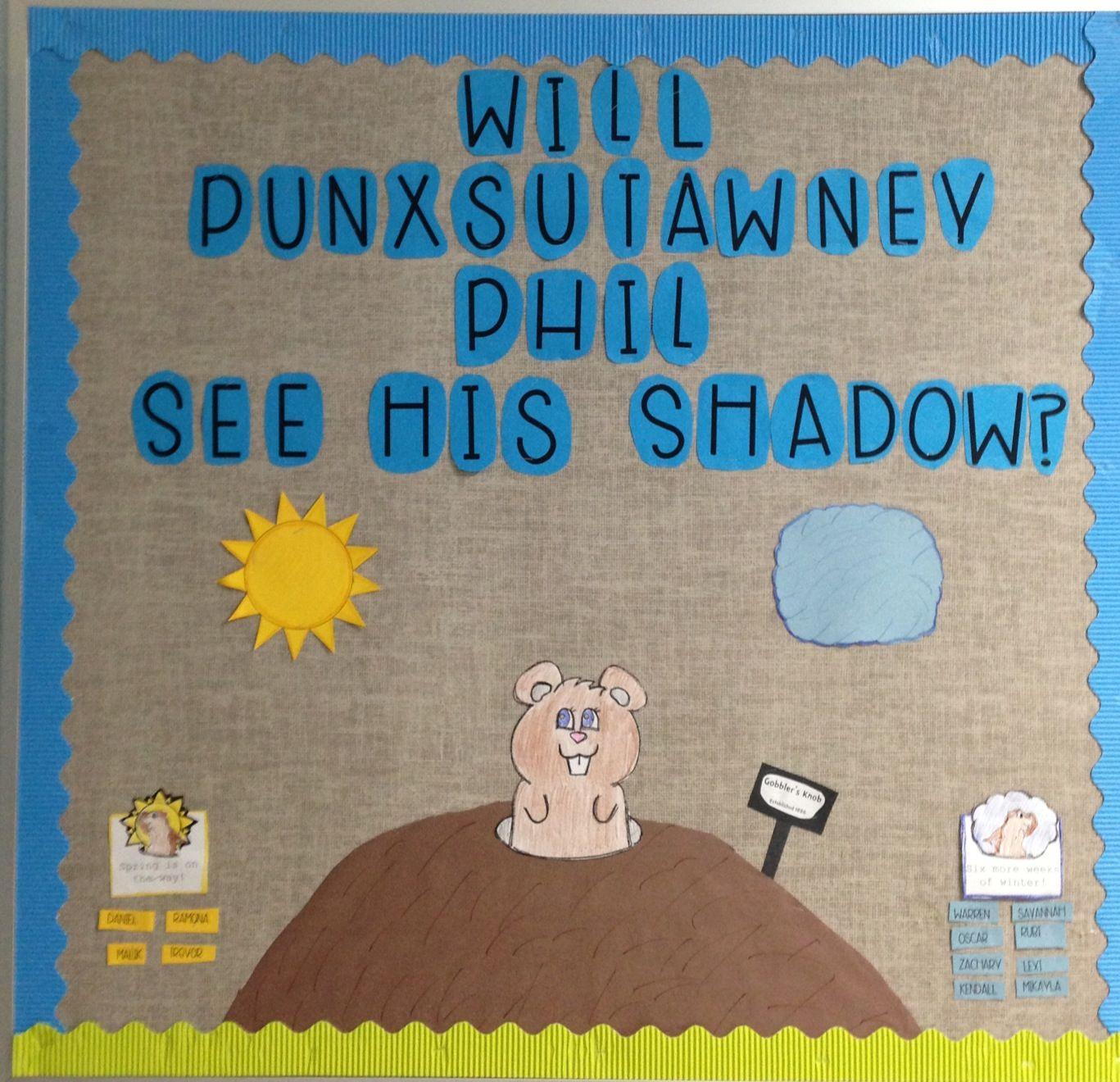 Groundhog S Day Board