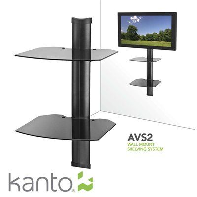 Kanto Ca Avs Wall Mount Shelving System Systemkeep It All Together In