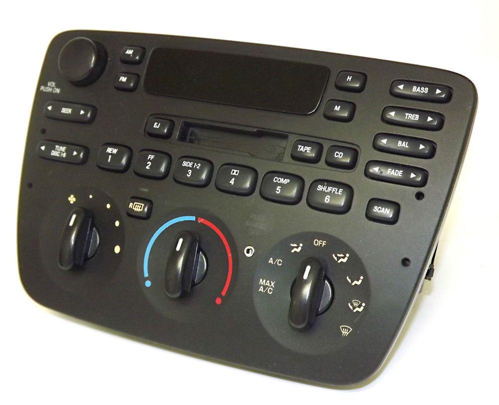 Ford taurus mercury sable 2004 2007 am fm cassette radio w aux ipod mp3