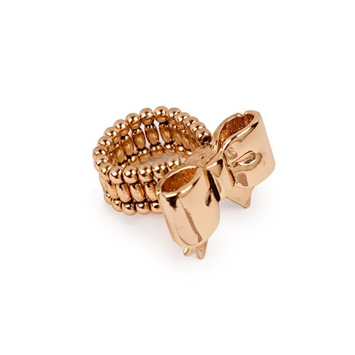 Bow Ring by Betsey Johnson