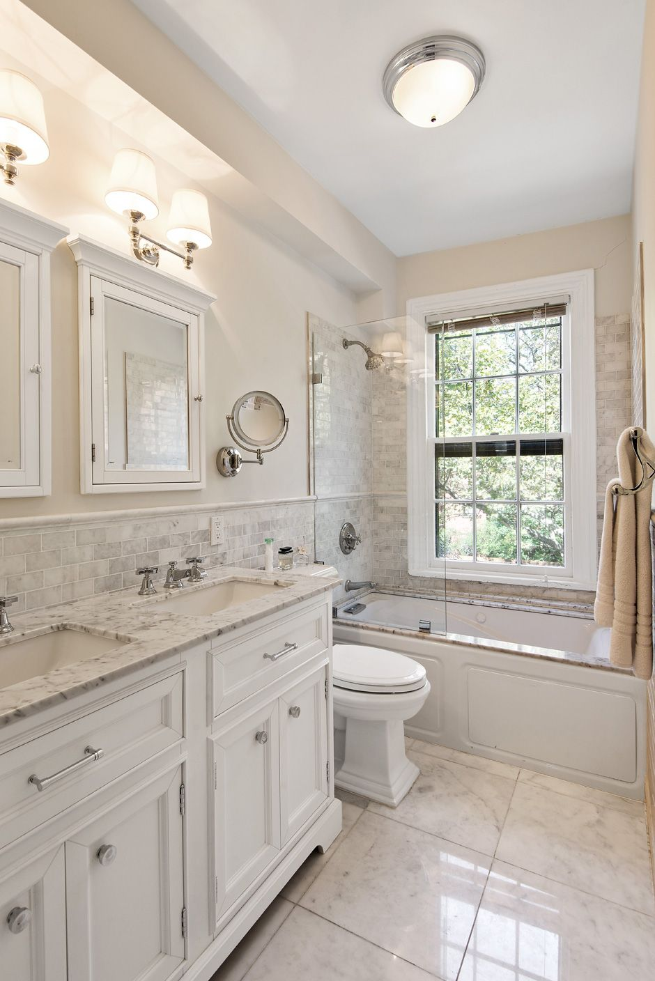 Classic Brooklyn Townhouse Master Bath By Steering House Design And Development Steeringhouse