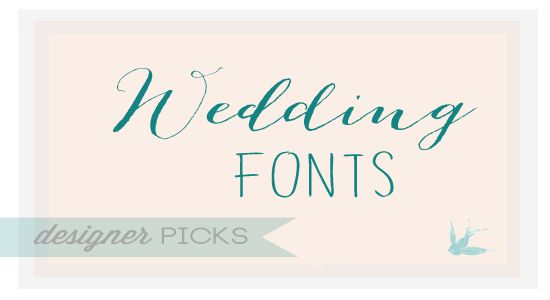 17 Best images about Fonts – Beautiful Fonts for Wedding Invitations