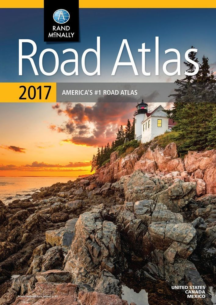 Details about 2020 Rand McNally Road Atlas 95th Edition