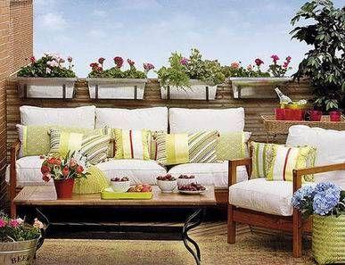 decoracion terraza moderna