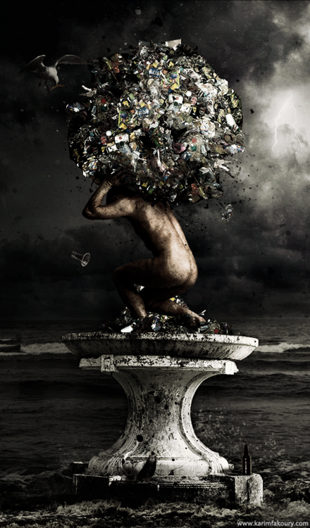 The weight of a messed up world.