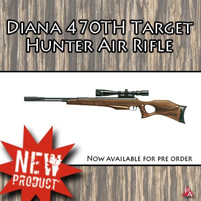 Accurate, reliable hunting air rifle  Available for pre-order  www