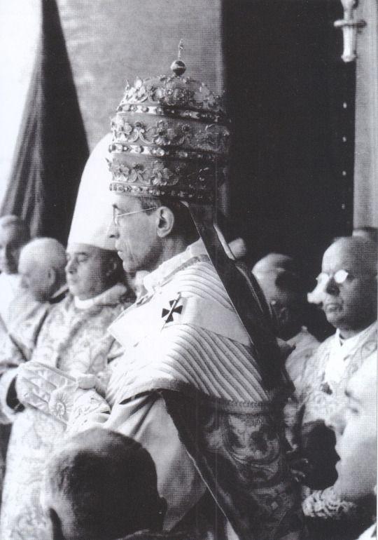 S S Pio Xii Il Giorno Della Sua Solenne Incoronazione 12 Marzo