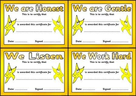 Honesty certificate true connection pinterest free teaching honesty certificate yelopaper Image collections