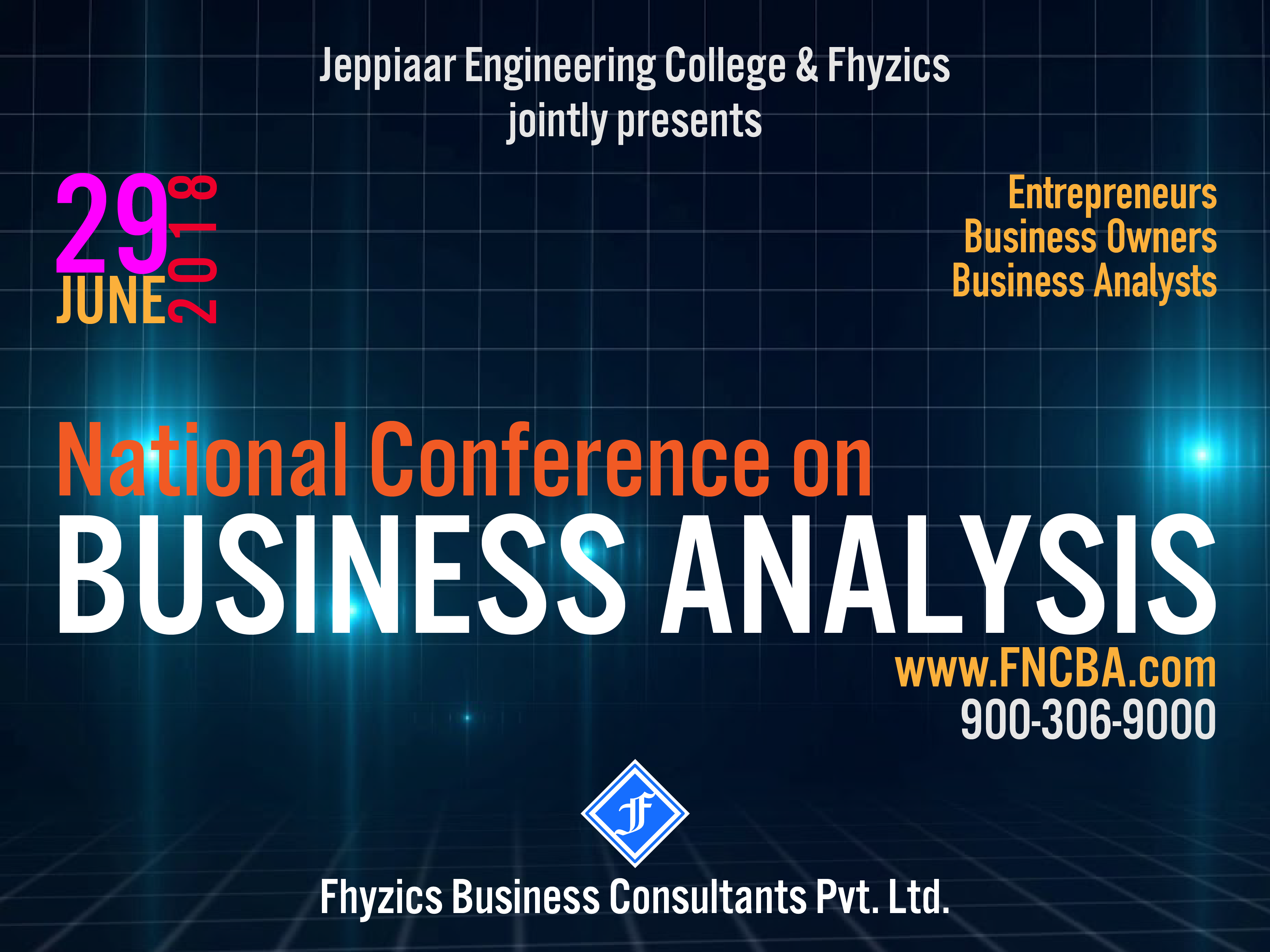 Join Us At The National Conference On Businessysis To