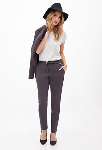 6531b83971 Classic Woven Trousers from Forever 21. I like these for a formal event or  job interview. I don t have dress pants because I never wear them.
