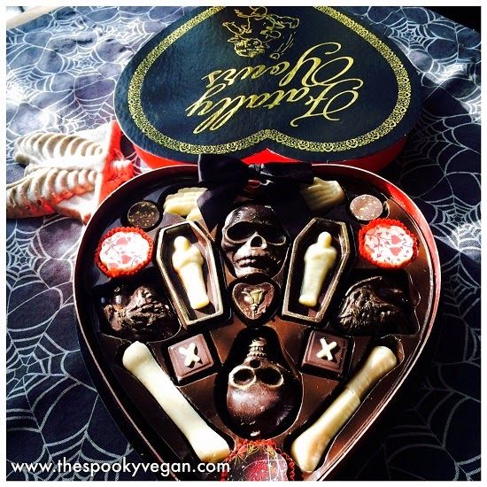 Food Review Dissection Of The Fatally Yours Chocolate Box Halloween Chocolate Creepy Food Spooky Food