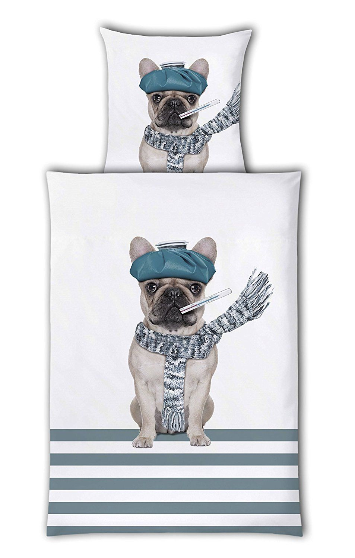 Bettwäsche Crazy Animals Bulldogge | Weihnachtsgeschenke | Pinterest ...