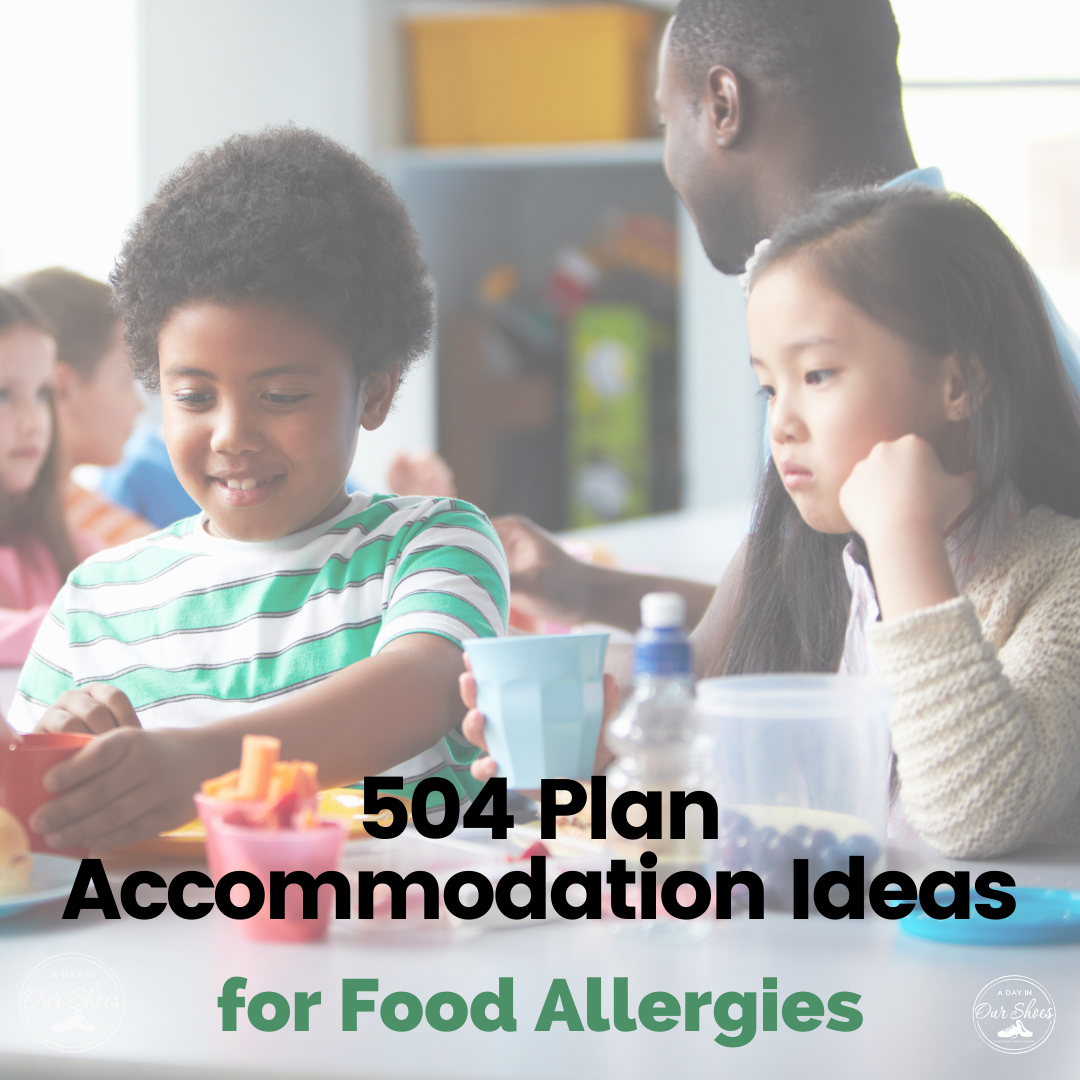 23 Accommodations to Include in your 504 Plan for Food ...