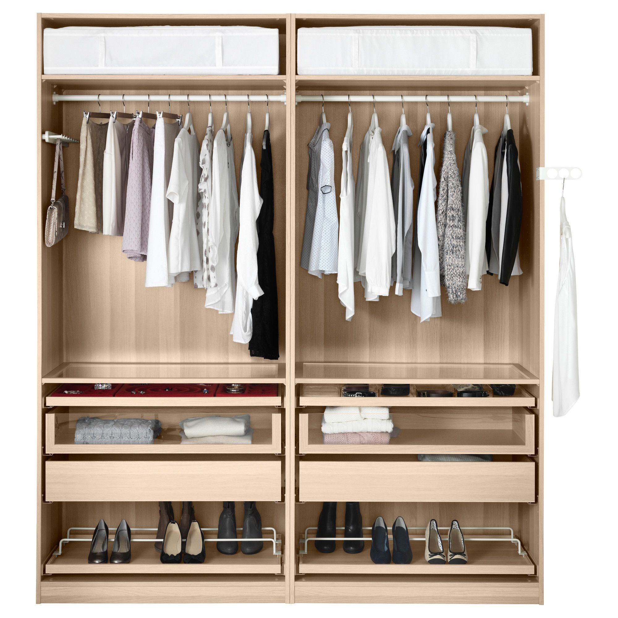 ikea pax closet systems - Google Search | Walk in robe design ...