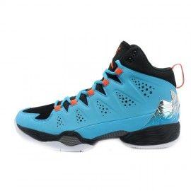 Air Jordan Melo M10 Black Orange Blue at kicksvovo.com
