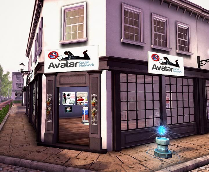 New ASN Location in Second Life