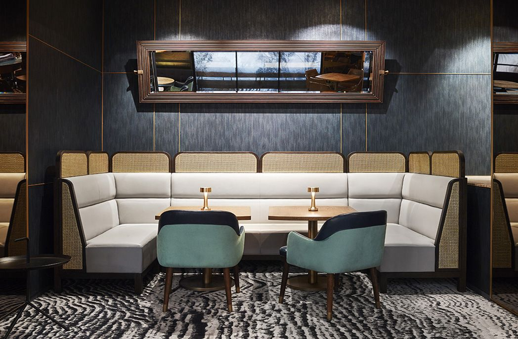 Luchetti Krelle's design for Mode Kitchen & Bar oozes