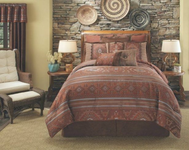 Bedroom Furniture Southwest Style Total Fab Comforters And Native American Indian Regarding