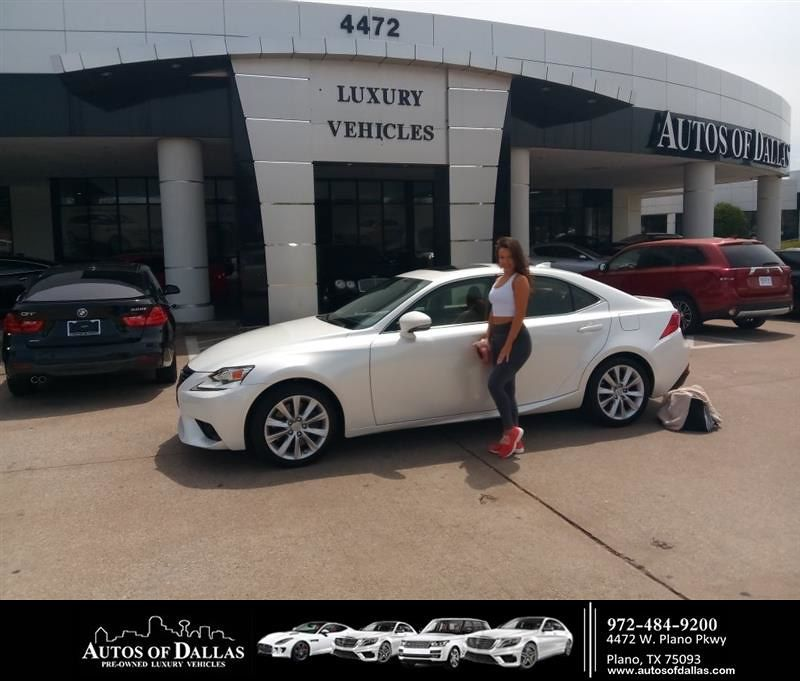 Happyanniversary To Sanja And Your 2016 Lexus Is 200t From John Hernandez At Autos Of Dallas Dallas Luxury Car Dealership Lexus