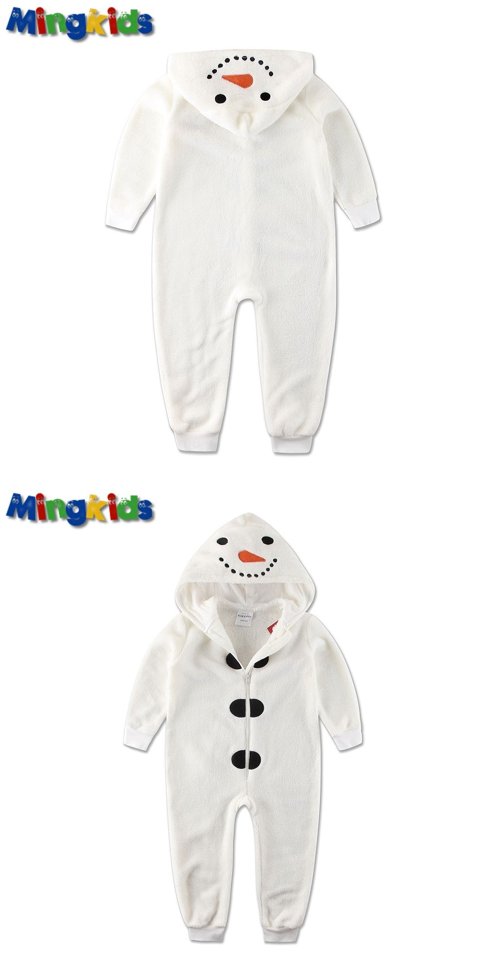Warm fleece sleepsuit