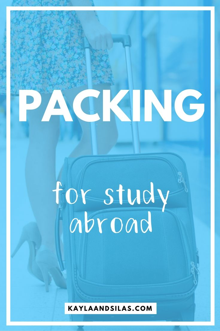 Study Abroad, Packing Tips For Travel, Study
