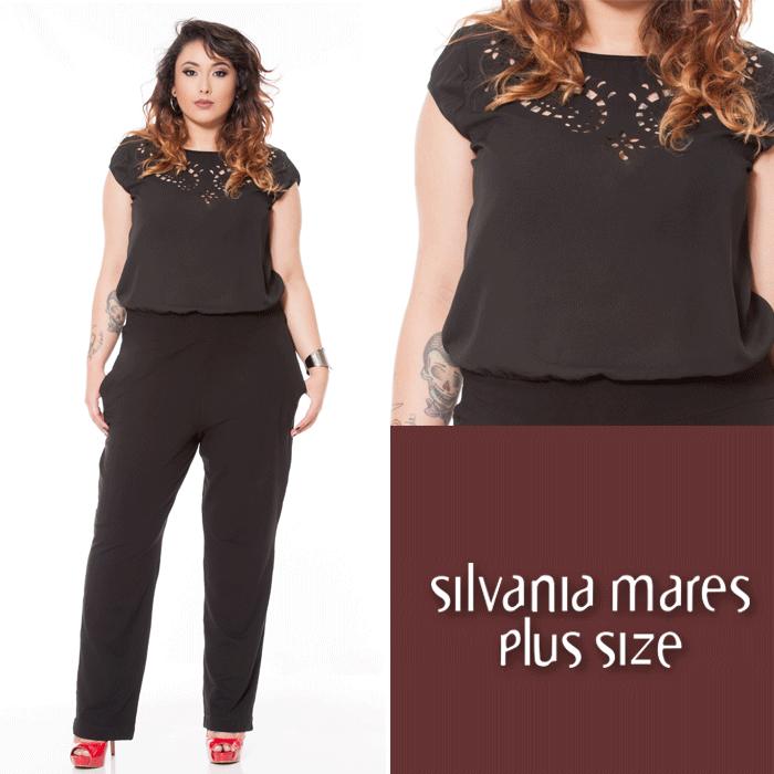98c044274b2d Macacão plus size | plus size clothing | Roupas femininas, Roupas ...