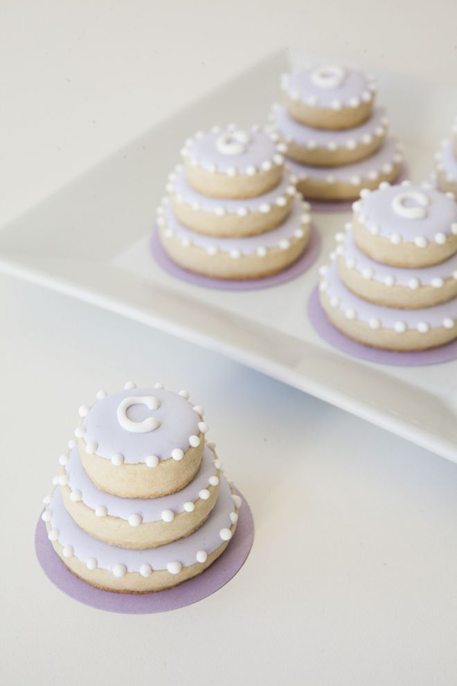 Learn How To Make These Darling Stacked Wedding Cookies Sugar Cookie Cakes Wedding Cake Cookies Cake Cookies