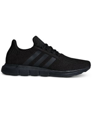 adidas Men s Swift Run Casual Sneakers from Finish Line - Black 11 7ee0ac62a
