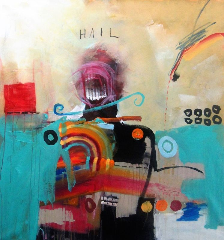 Hail The New Dawn Dawn, Acrylics and Artwork - new certificate of authenticity painting