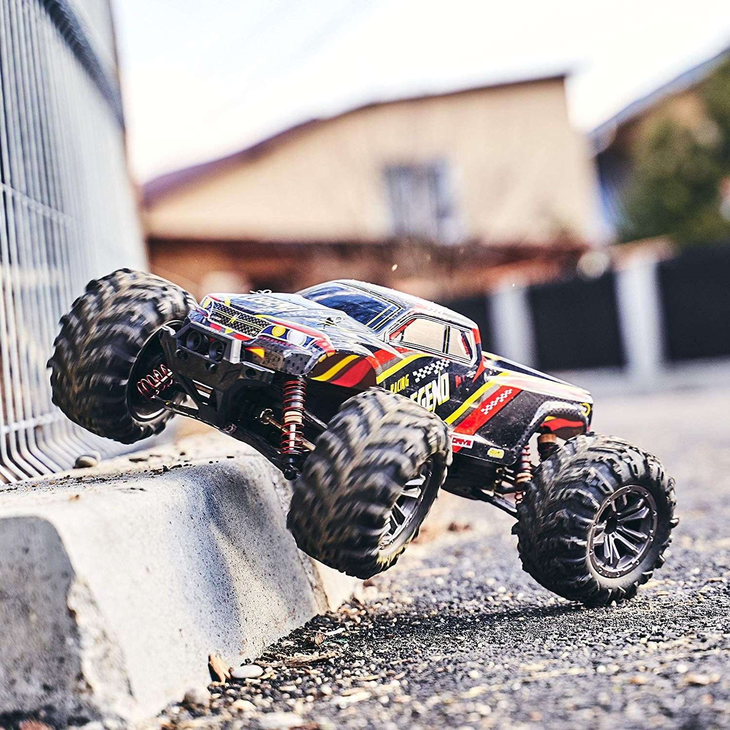 110 Scale Large RC Cars 48+ kmh Speed Boys Remote
