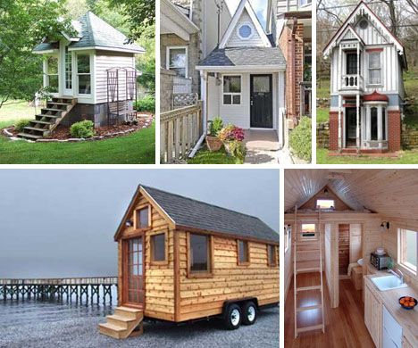 Super Tiny Homes Trend: Semi Mobile Small Space Living