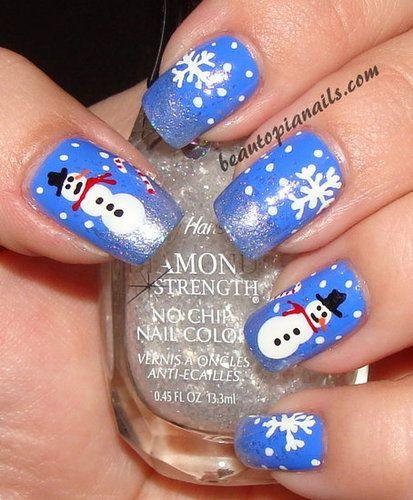 Winter Wonderland Nail Art Pinterest Sally Hansen