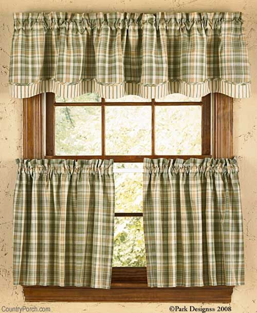 Rosemary Lined Layered Curtain Valance Country Kitchen Curtains Country Style Curtains Valance Curtains