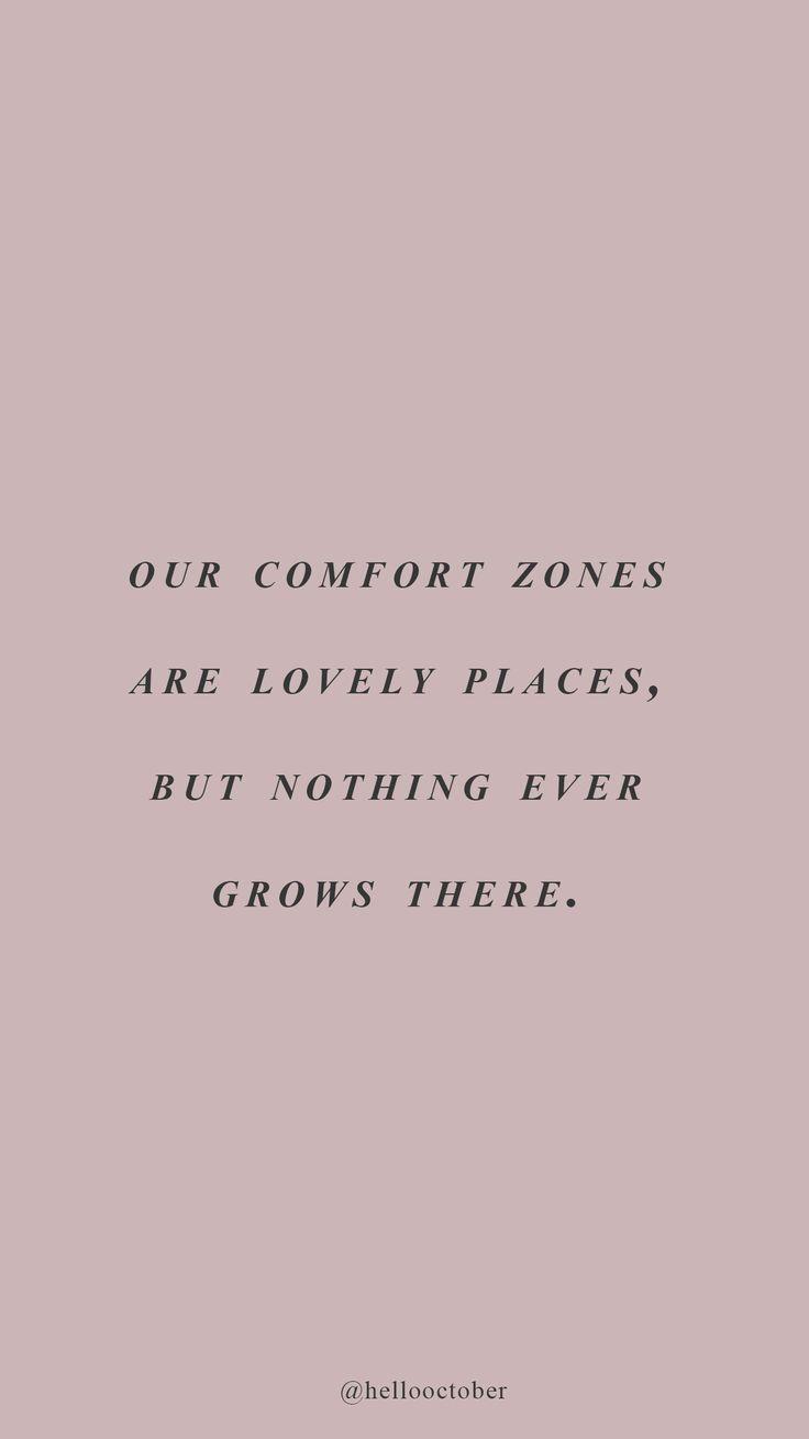 Photo of Comfort Zones