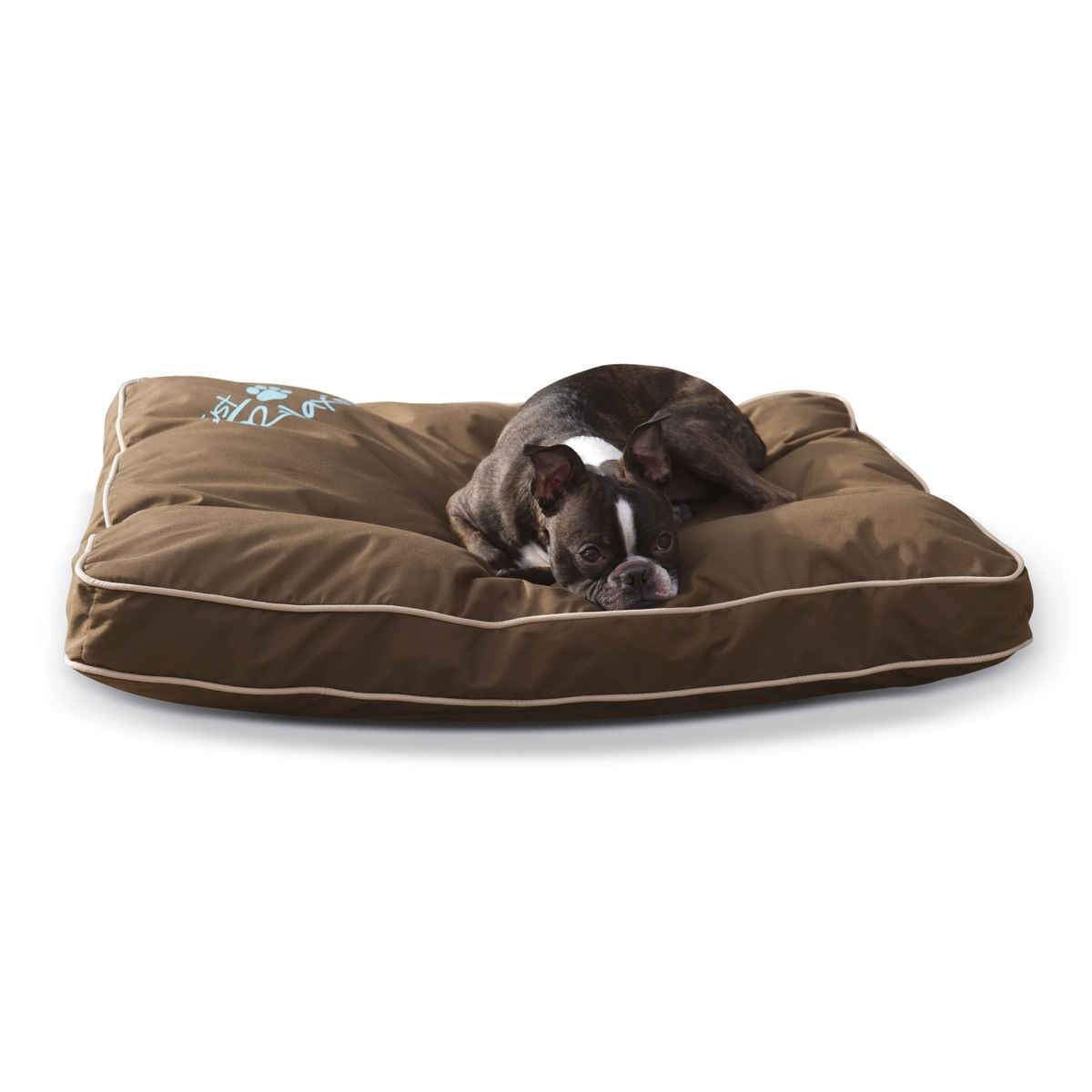 Kh Pet Products Just Relaxin Indoor Outdoor Pet Bed Medium Chocolate 28 X