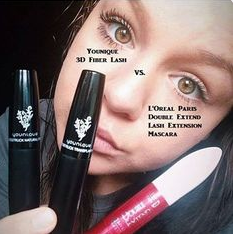 333155ef5ce Loreal vs Younique Fiber #Lash #Mascara. | Younique 3D Fiber Lash ...