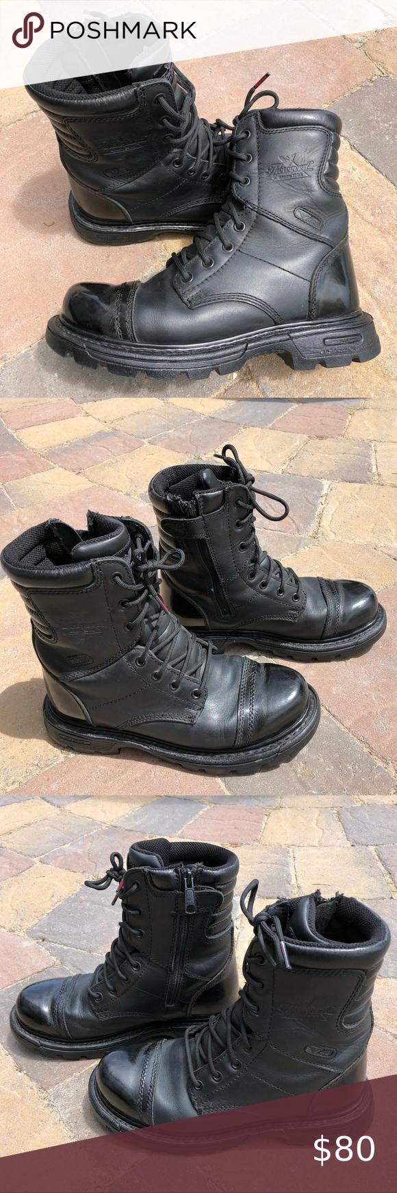 Combat Tactical Moto Boots EUC Stock