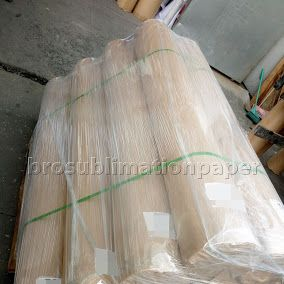 Sublimation Protection Paper !  Strong packing helps to protect the fragile paper !  www.brosublimationpaper.com