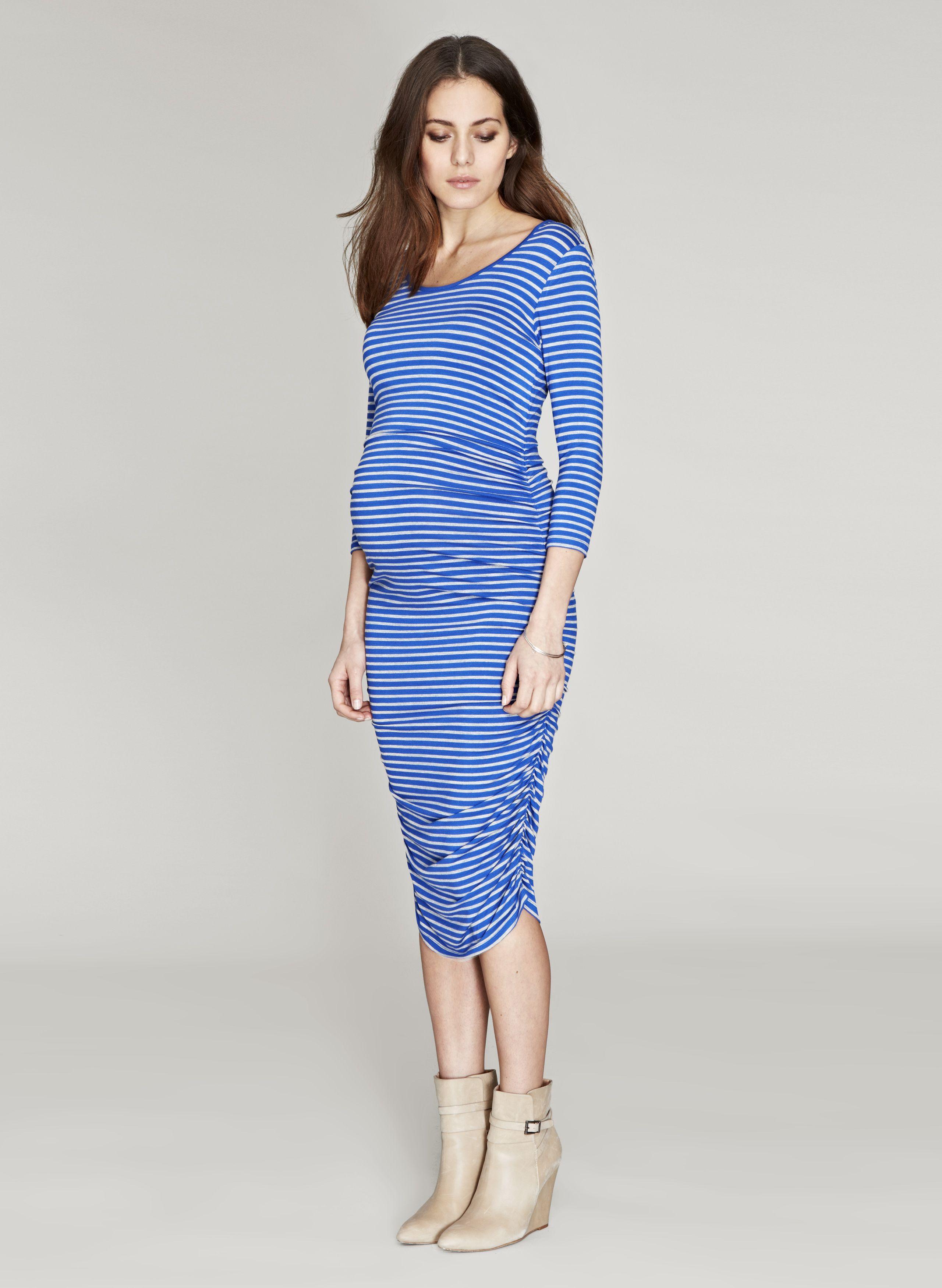 Dawson stripe maternity dress striped maternity dresses isabella oliver dawson stripe maternity dress ombrellifo Choice Image