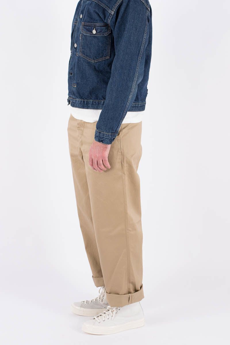 4ebdabad8a83a1 orSlow Khaki Vintage Fit US Army Trouser | Menswear in 2019 | Mens ...