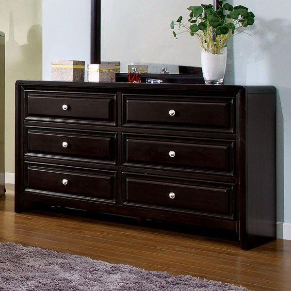Winsor Elegant Style Espresso Finish Bedroom Dresser