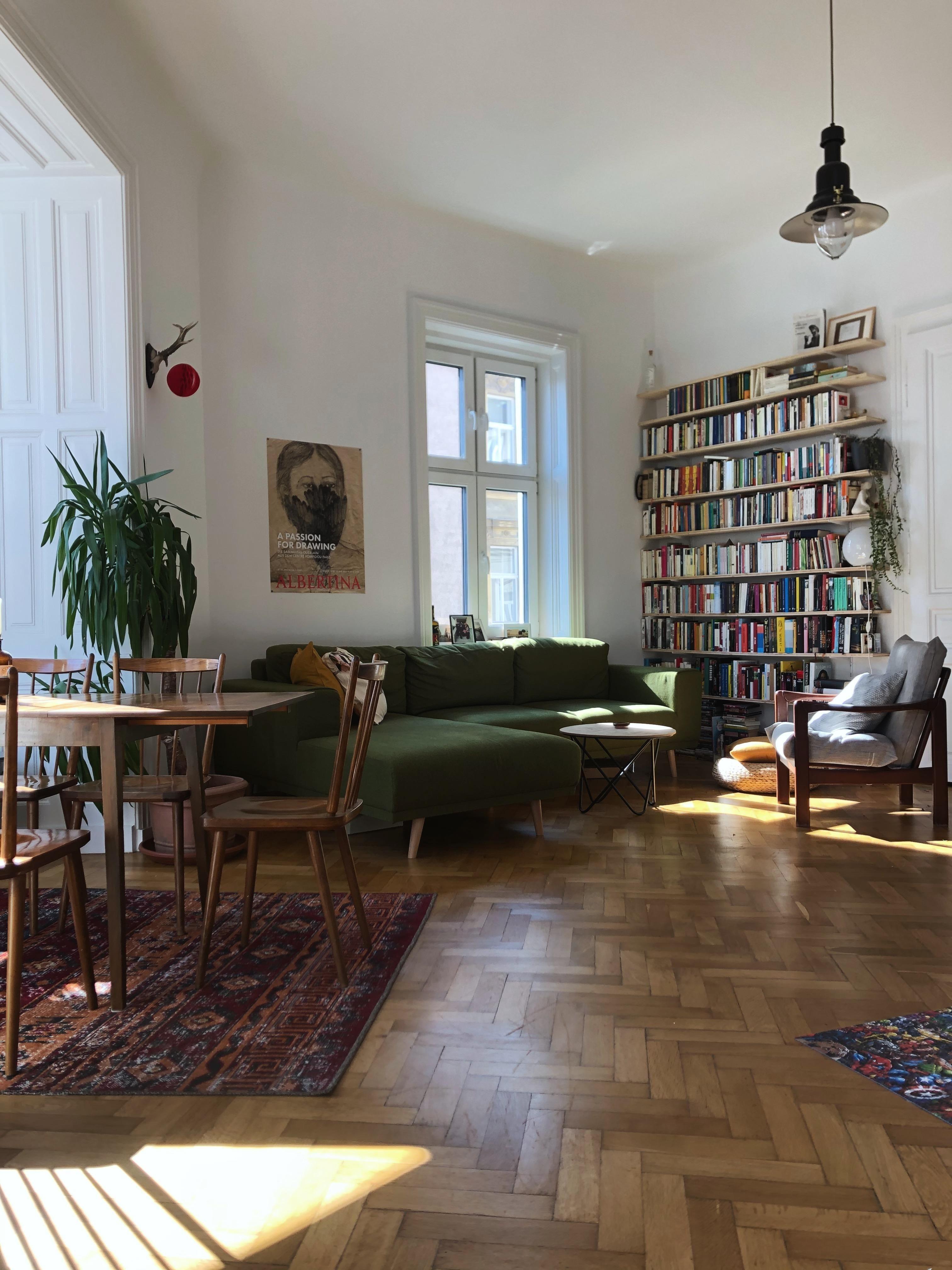 Ein Blick in unser Wohnzimmer und mein Lieblingspart…