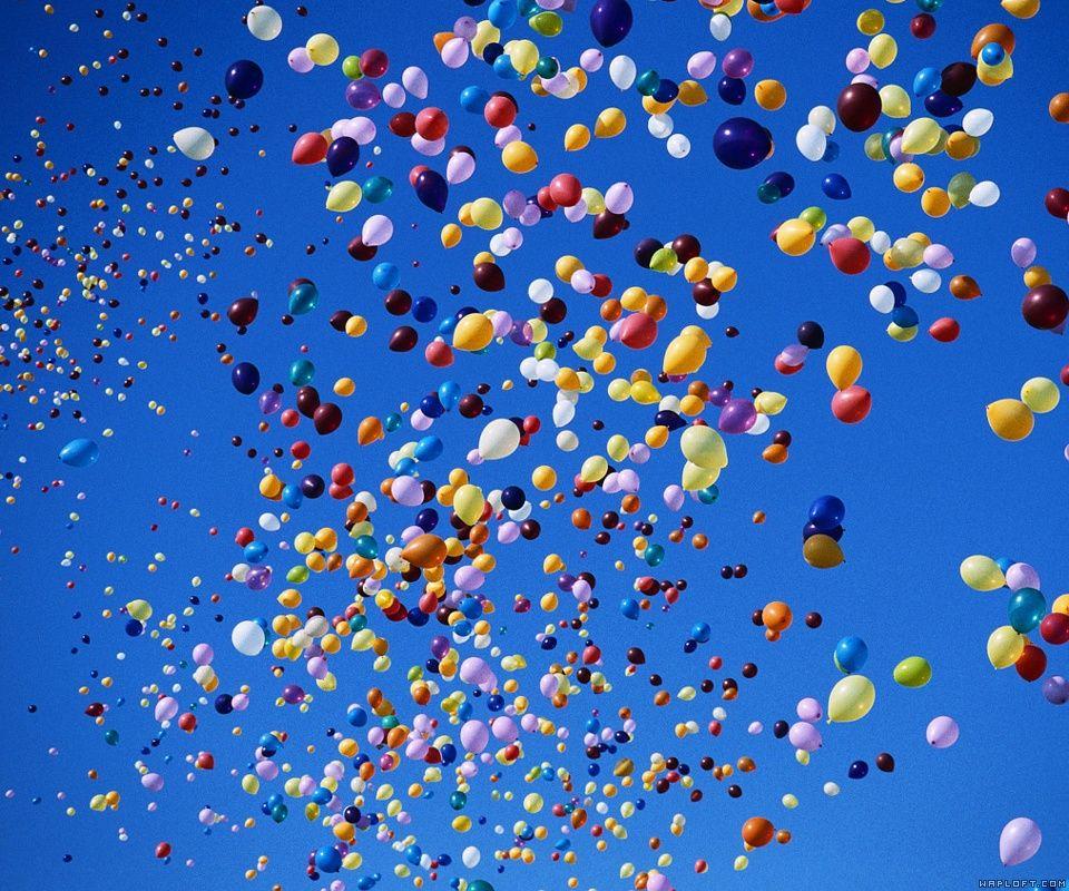 Balloons Wallpaper by Wapking.cc
