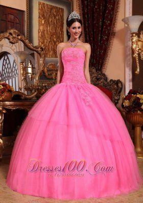 Pink Puffy Prom Dresses - Ocodea.com