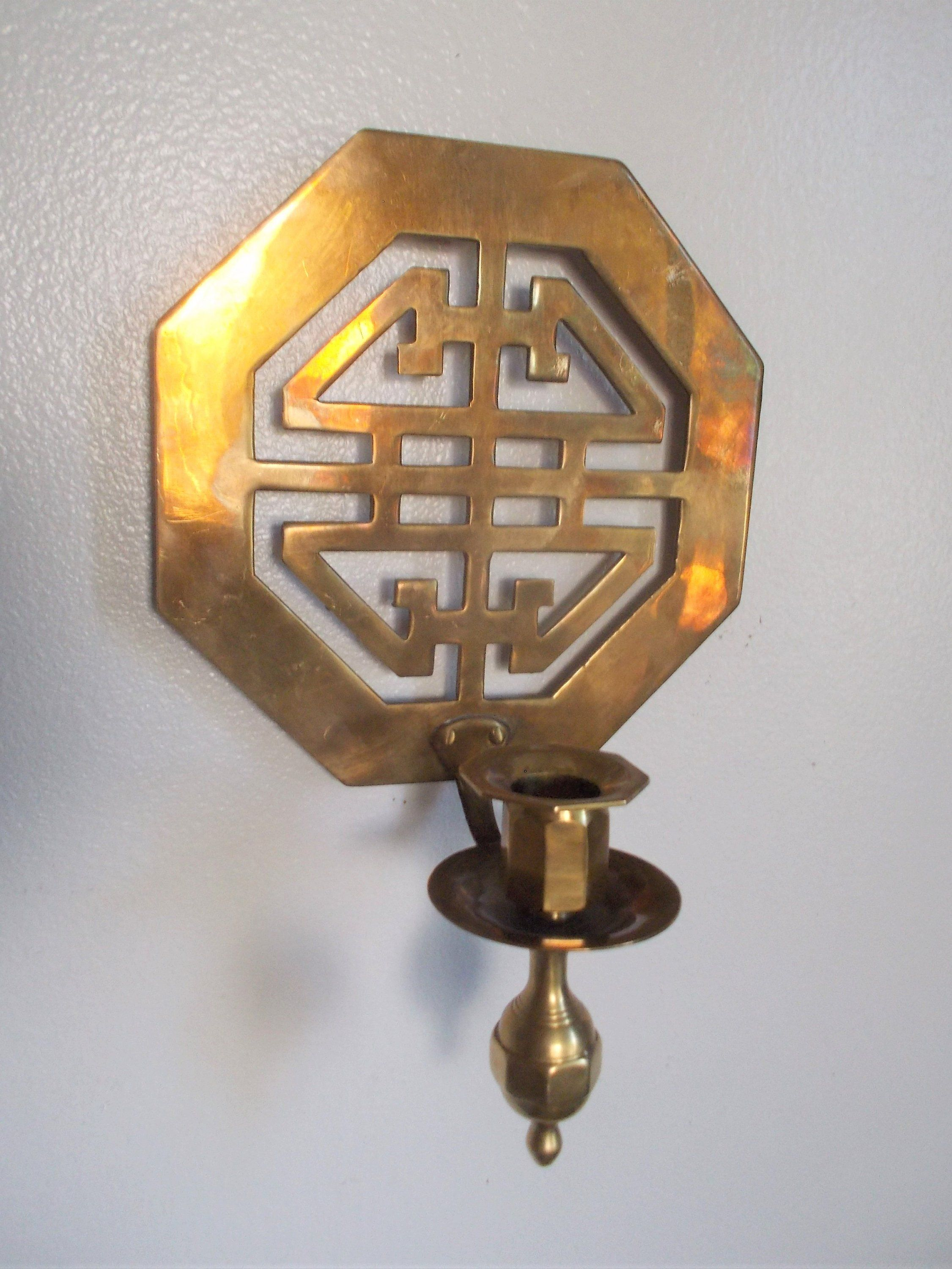 Br Asian Style Wall Candle Sconce