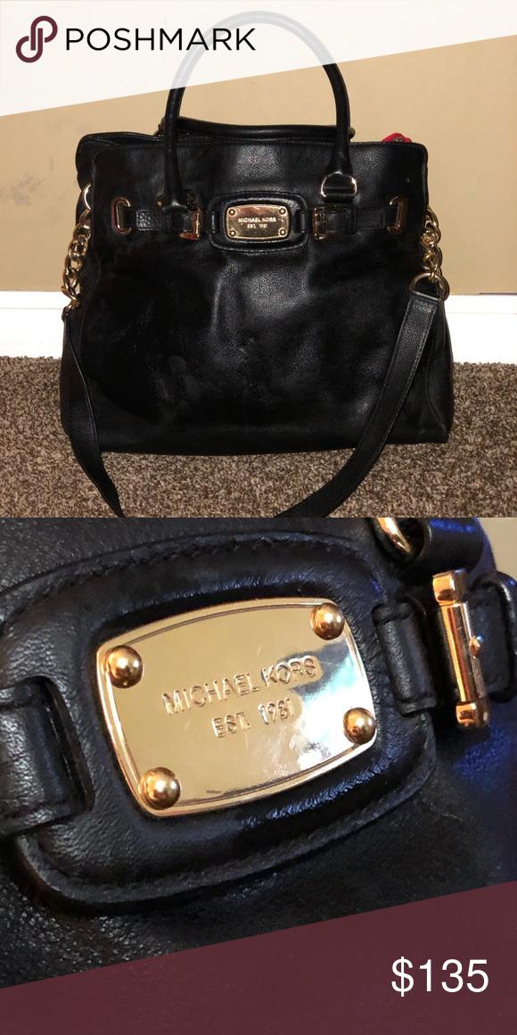 203557d46349 Michael Kors bag Beautiful black tote bag Michael Kors Bags Crossbody Bags