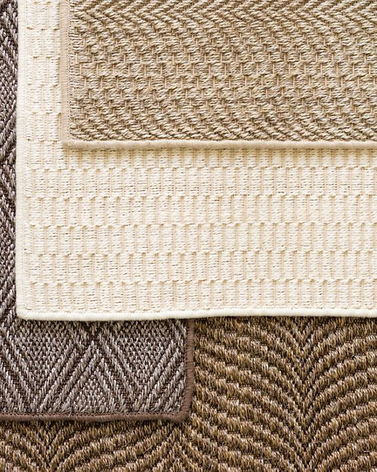 Diamond Sand Woven Sisal Rug Dash Albert Neutral Decorating