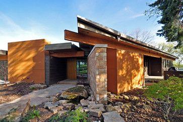 Lake Kegonsa House Modern Exterior Other Metro Gmk Architecture Inc Modern Exterior Stucco Exterior Architecture